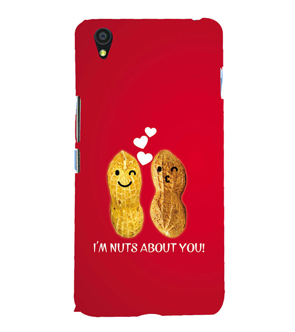 Nuts About You Back Cover for OnePlus X