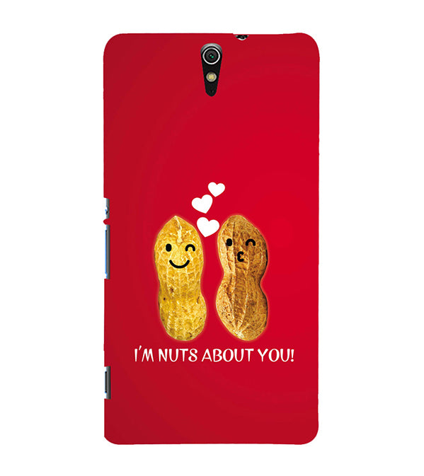 Nuts About You Back Cover for Sony Xperia C5