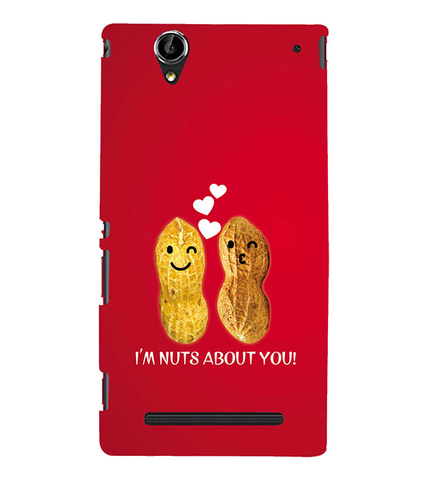 Nuts About You Back Cover for Sony Xperia T2