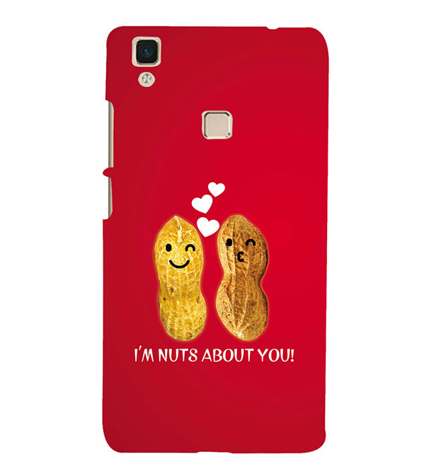 Nuts About You Back Cover for Vivo V3Max