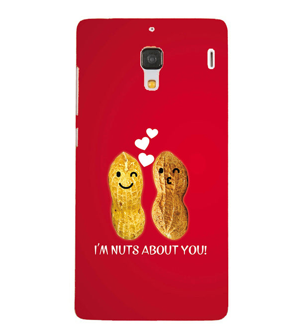 Nuts About You Back Cover for Xiaomi Redmi 1S