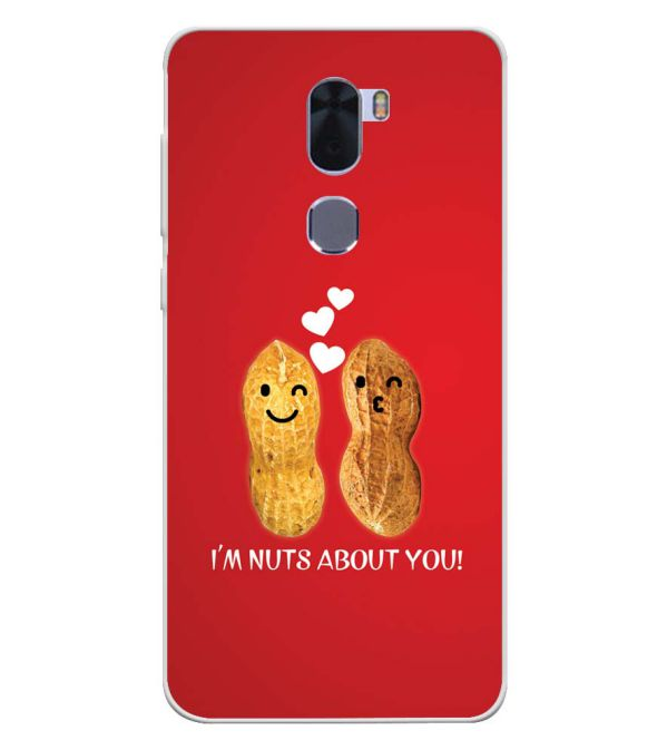 Nuts About You Soft Silicone Back Cover for Coolpad Cool 1