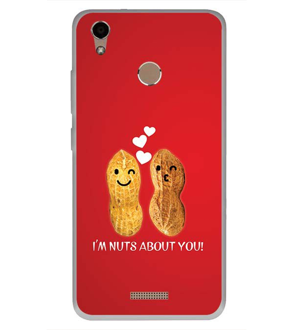 release date: cad6b 991d6 Nuts About You Soft Silicone Back Cover for InFocus Turbo 5