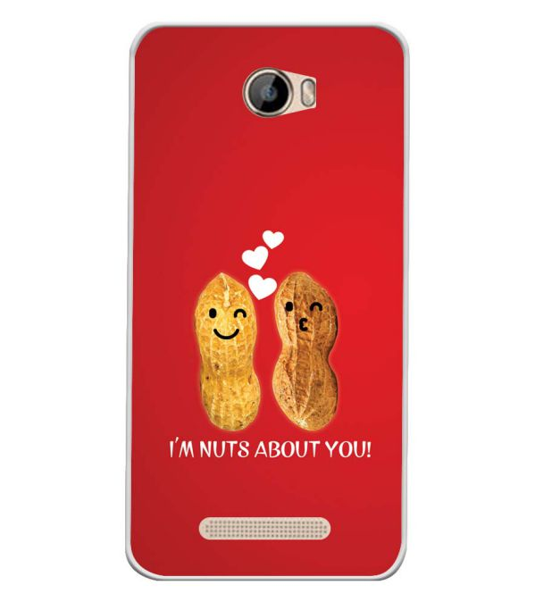 Nuts About You Soft Silicone Back Cover for Intex Aqua 5.5 VR