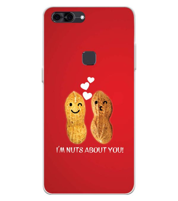 Nuts About You Soft Silicone Back Cover for Lava Z90