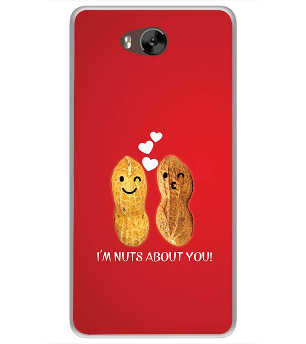 Nuts About You Soft Silicone Back Cover for LYF Wind 4s