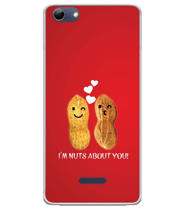 Nuts About You Soft Silicone Back Cover for Micromax Selfie 3 Q348