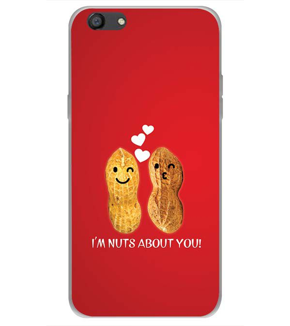 Nuts About You Back Cover for Oppo A77
