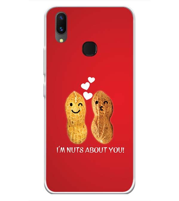 Nuts About You Soft Silicone Back Cover for Vivo X21