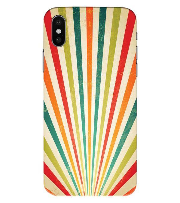 Old Look Pattern Back Cover for Apple iPhone XS Max (Big 6.5 Inch Screen)