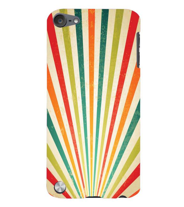 Old Look Pattern Back Cover for Apple iPod Touch 5