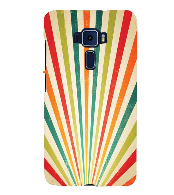 Old Look Pattern Back Cover for Asus Zenfone 3 ZE520KL