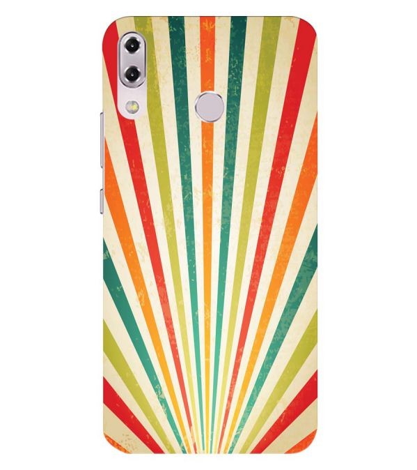 Old Look Pattern Back Cover for Asus Zenfone 5z ZS620KL