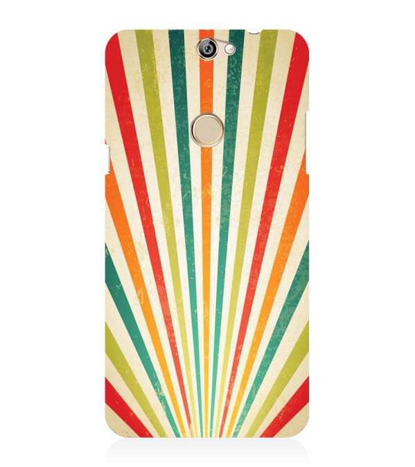 Old Look Pattern Back Cover for Coolpad Max