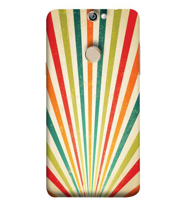 Old Look Pattern Back Cover for Coolpad Max A8