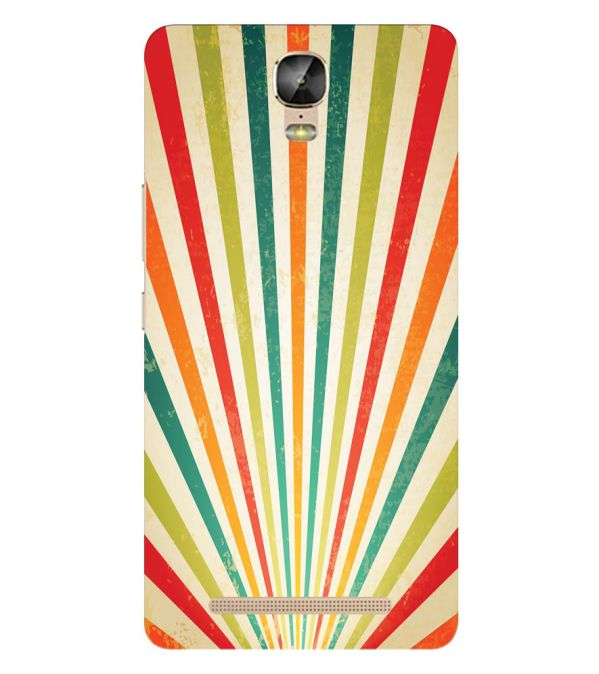 Old Look Pattern Back Cover for Gionee Marathon M5 Plus