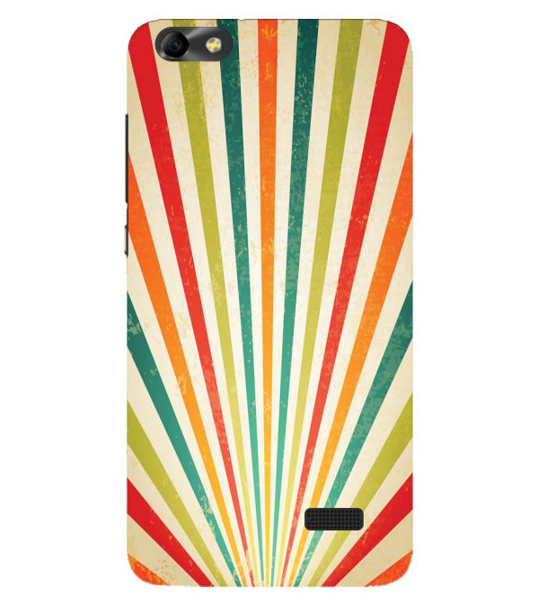 Old Look Pattern Back Cover for Huawei Honor 4C