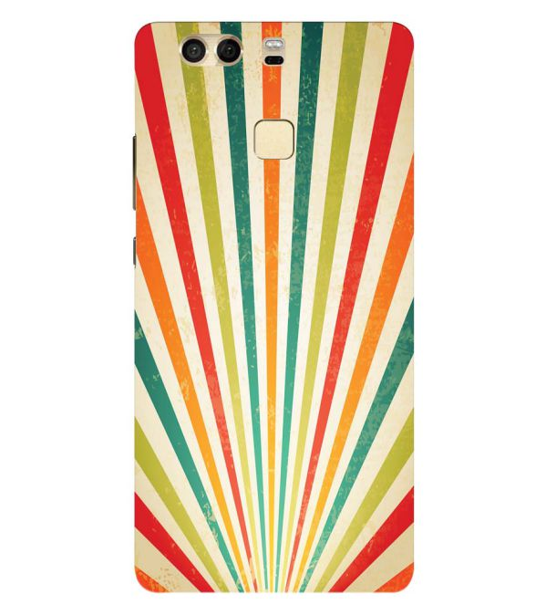 Old Look Pattern Back Cover for Huawei P9
