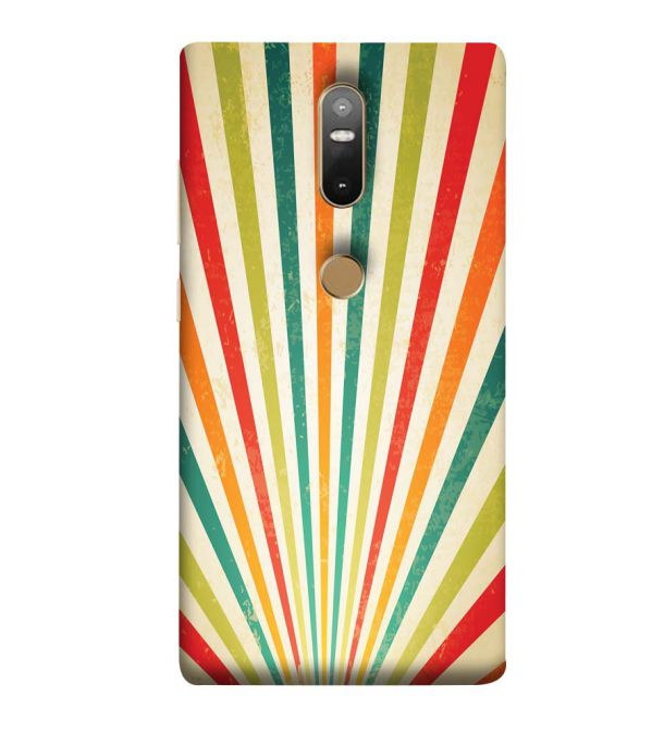 Old Look Pattern Back Cover for Lenovo Phab 2 Plus