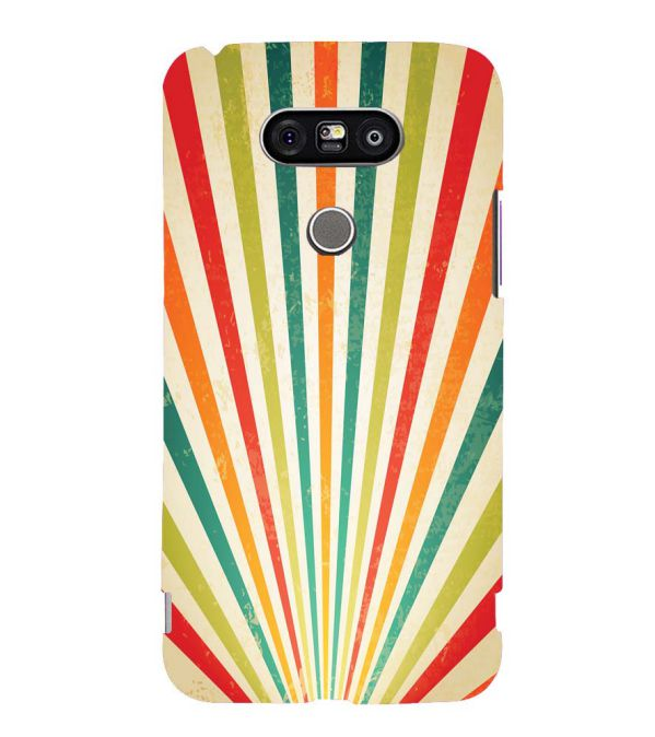Old Look Pattern Back Cover for LG G5