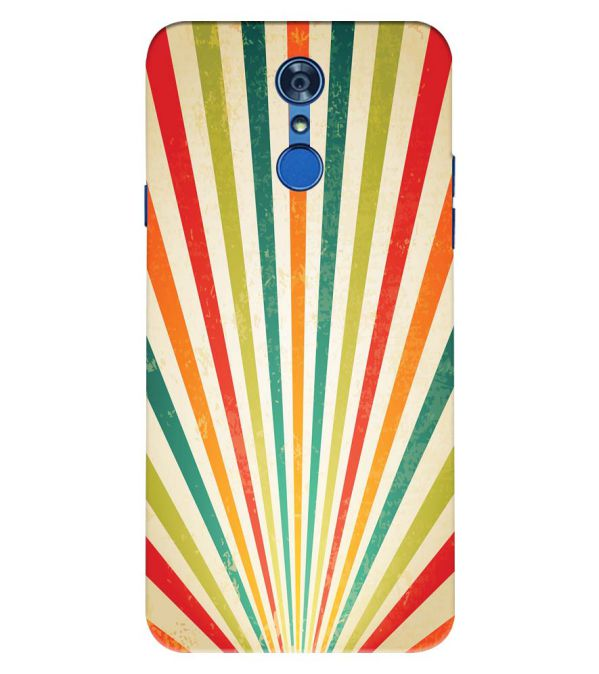 Old Look Pattern Back Cover for LG Q7