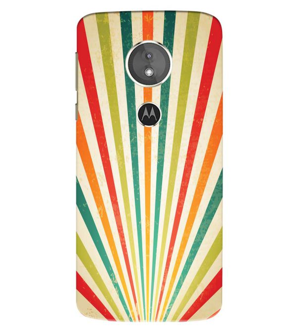 Old Look Pattern Back Cover for Motorola Moto E5 Play