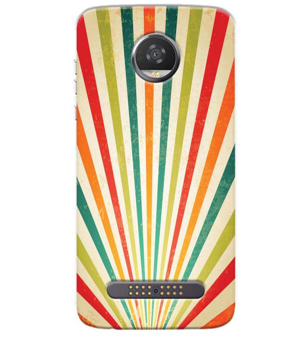 Old Look Pattern Back Cover for Motorola Moto Z3 Play
