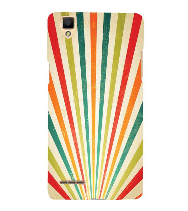 Old Look Pattern Back Cover for Oppo F1