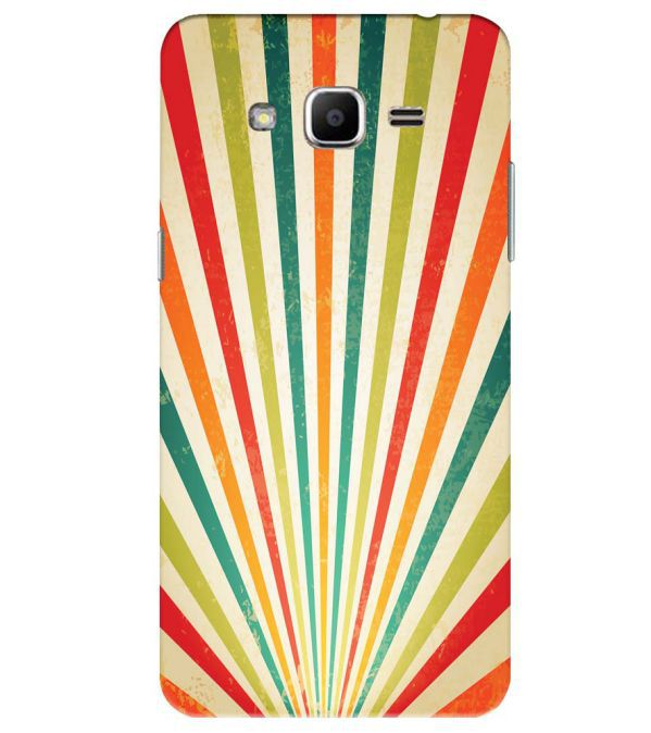 Old Look Pattern Back Cover for Samsung Galaxy J2 Ace