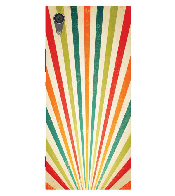 Old Look Pattern Back Cover for Sony Xperia XA1 Plus