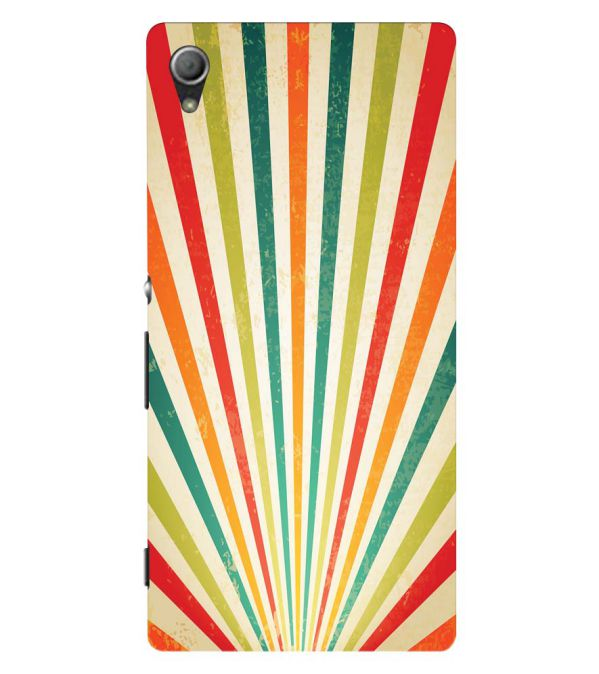 Old Look Pattern Back Cover for Sony Xperia Z3+ and Xperia Z4