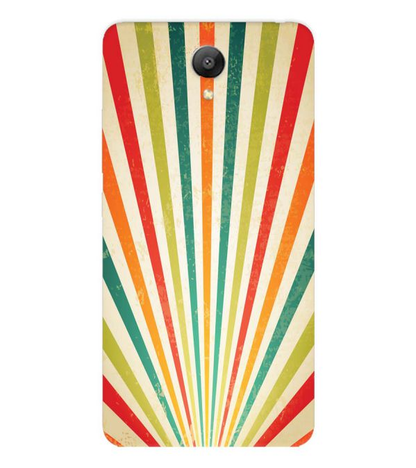 Old Look Pattern Back Cover for Xiaomi Redmi Note 2