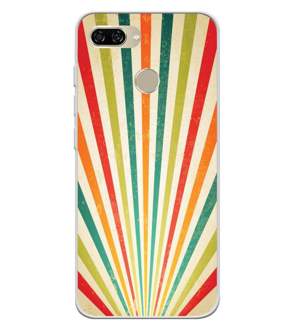 Old Look Pattern Soft Silicone Back Cover for Gionee S11 lite