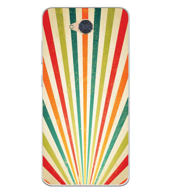 Old Look Pattern Soft Silicone Back Cover for Gionee S6Pro