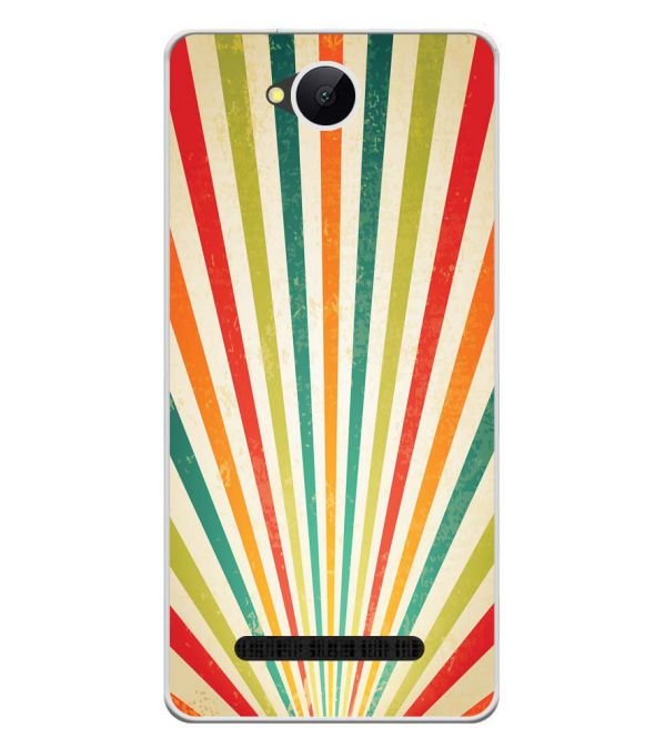 Old Look Pattern Soft Silicone Back Cover for Karbonn A45 Indian