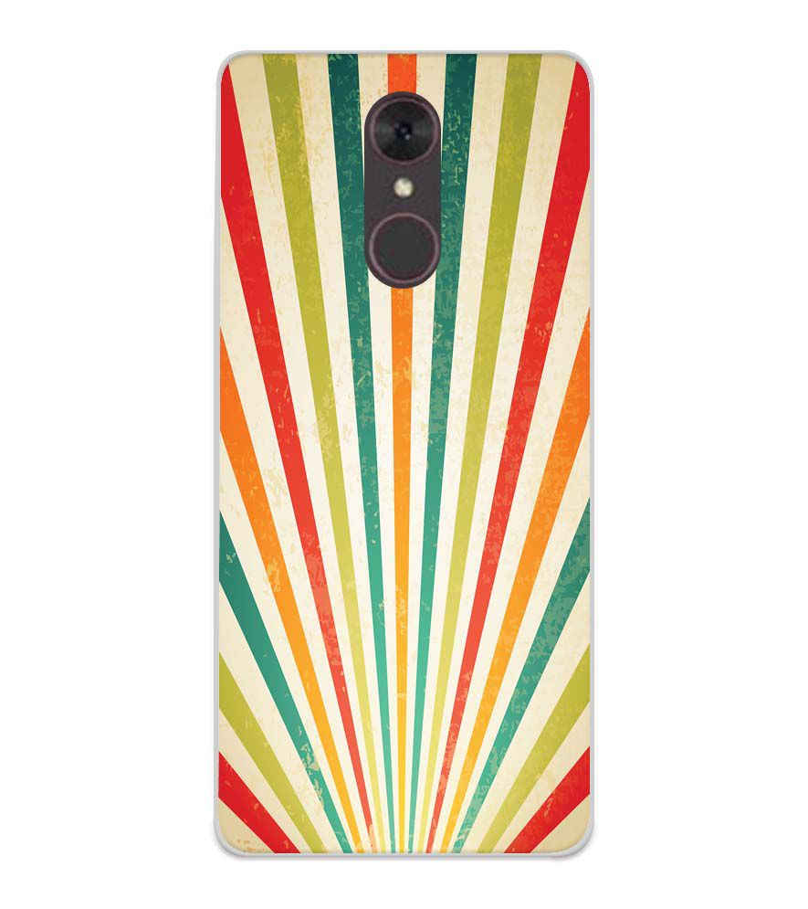 Old Look Pattern Soft Silicone Back Cover for Spice F311