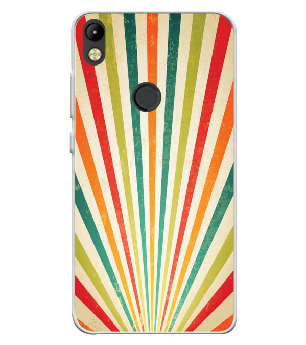 Old Look Pattern Soft Silicone Back Cover for Tecno Camon I