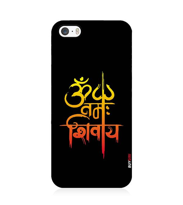 Om Namah Shivay Back Cover for Apple iPhone 5 and iPhone 5S and iPhone SE