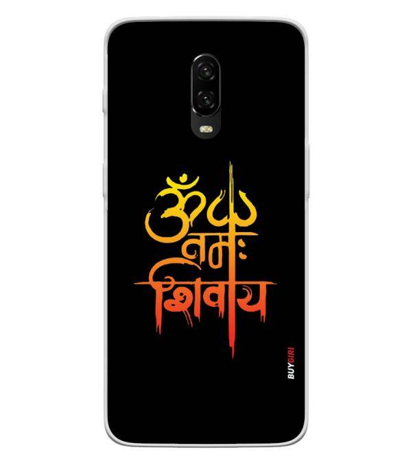 Om Namah Shivay Back Cover for OnePlus 6T