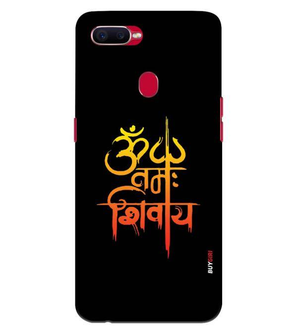Om Namah Shivay Back Cover for Oppo F9 Pro