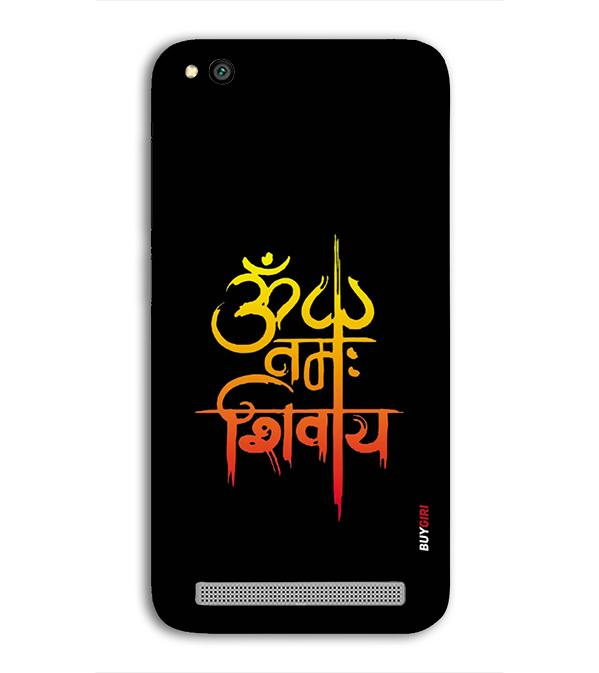 Om Namah Shivay Back Cover for Xiaomi Redmi 5A