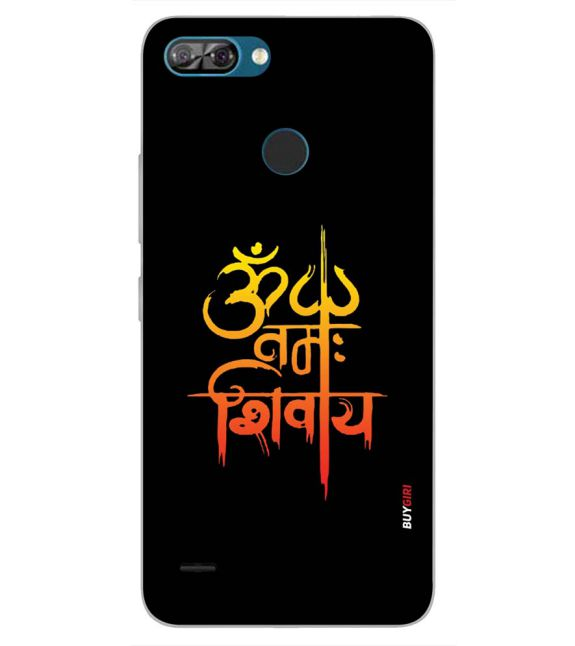 Om Namah Shivay Back Cover for Itel A46-Image3