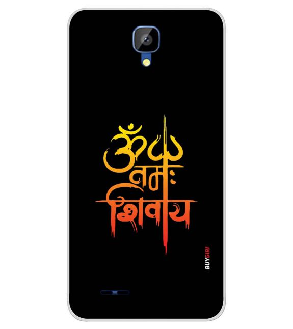 Om Namah Shivay Back Cover for Karbonn Aura Champ-Image3