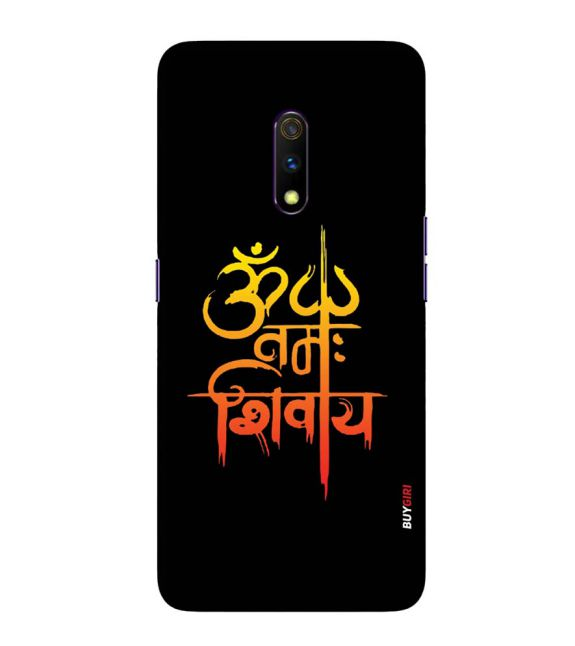 Om Namah Shivay Back Cover for Realme X