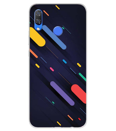 Oval Style Pattern Soft Silicone Back Cover for Huawei Y9 (2019)