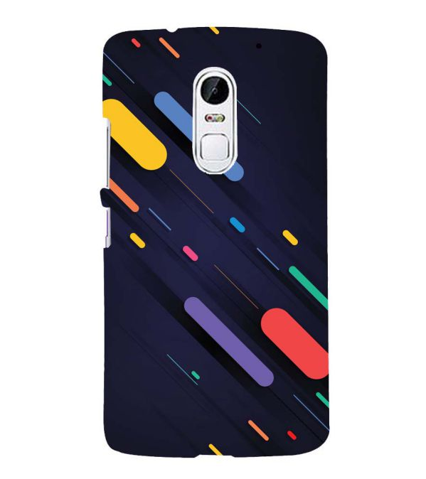 Oval Style Pattern Back Cover for Lenovo Vibe X3