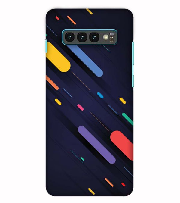 Oval Style Pattern Back Cover for Samsung Galaxy S10 (6.1 Inch Screen)