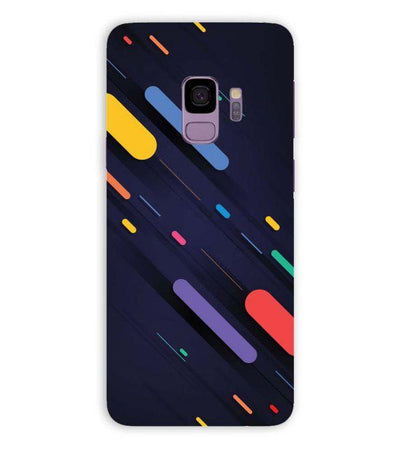 Oval Style Pattern Back Cover for Samsung Galaxy S9