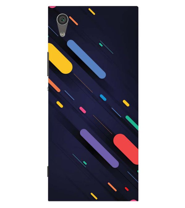 Oval Style Pattern Back Cover for Sony Xperia XA1 Plus