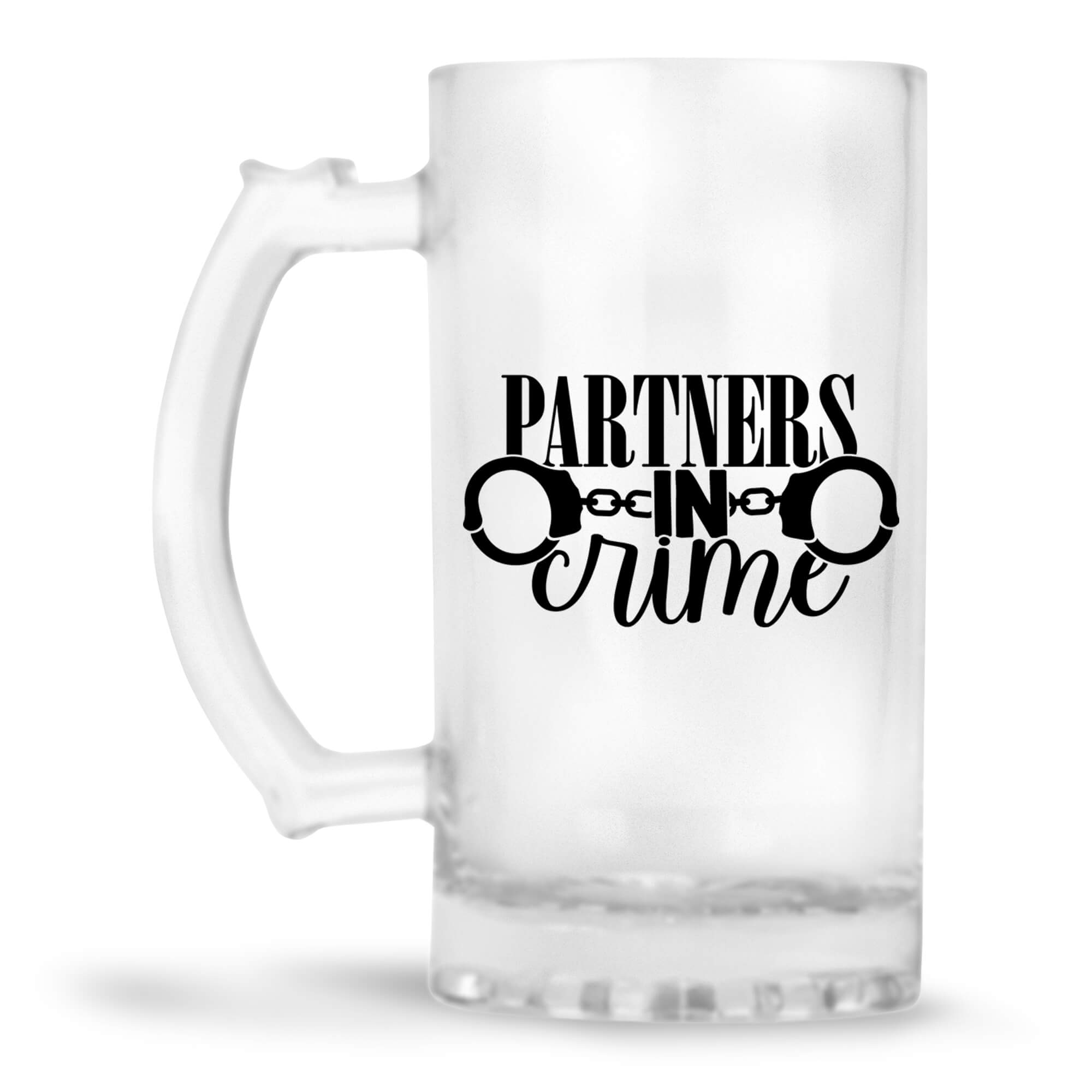 Partners In Crime Beer Mug